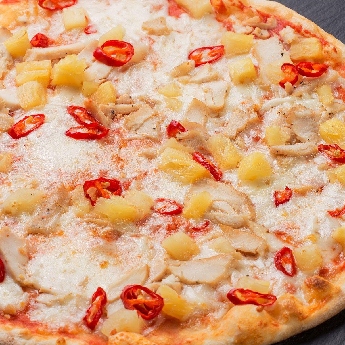 Пицца Гавайская с цыпленком