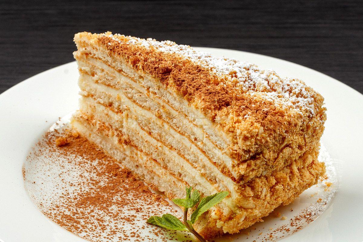 """Торт """"Творожный Наполеон"""""""