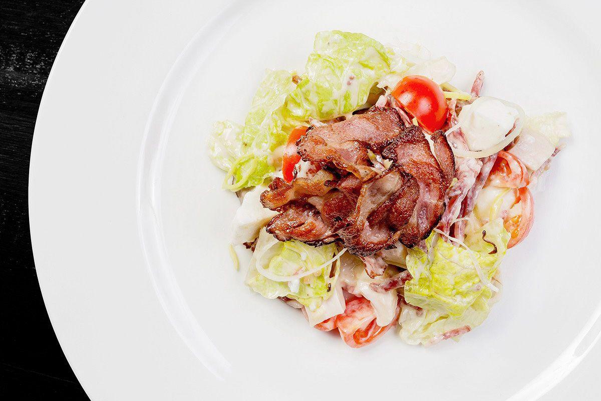Итальянский мясной салат
